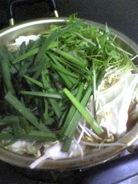 あっさり☆もつ鍋スープ