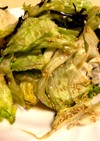 ごま油とレタスのサラダおつまみに最適