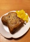 ふわふわ&しっとり☆カフェのバナナケーキ