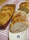 乙女色♡ヨーグルトいちごパン