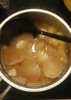 干しかぶらのお味噌汁