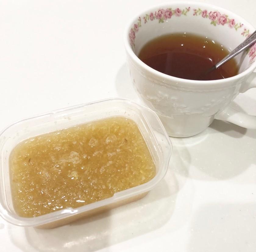 即席かぜ薬!大根生姜はちみつ紅茶