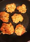 大和芋と鶏胸ひき肉のふわふわ焼き