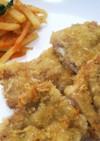 豚薄切り肉のチーズサンドフライ