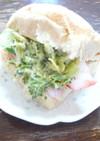 ブロッコリーサラダ・サンドイッチ