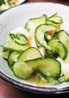 *塩麹で旨味UP*きゅうりと竹輪の酢の物