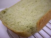 早焼き☆バナナとホウレンソウの食パンの写真
