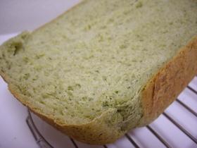 早焼き☆バナナとホウレンソウの食パン