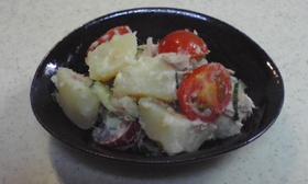 ツナポテトトマトサラダ