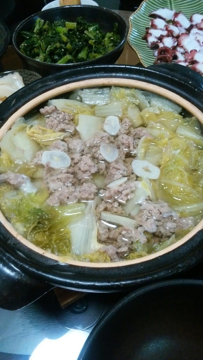 早い!安い!簡単! 白菜とひき肉のスープ