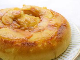 簡単♪りんごの蒸しケーキ(炊飯器使用)