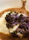 サッポロ一番ごま味豆乳あんかけ魚フライ