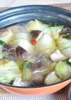 ロール白菜の和風鍋♪