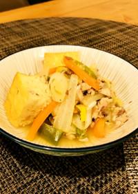 サバと白菜のあっさり煮