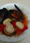 サッポロ一番塩ラーメンでトマト味スープ