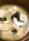 身体が温まる!カラルーと島豆腐の味噌汁