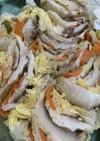 レンジでチンの白菜豚バラのミルフィーユ