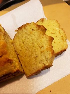 おからとHMで☆レモンパウンドケーキ