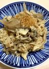 簡単!生姜と出汁香る 舞茸の炊き込みご飯
