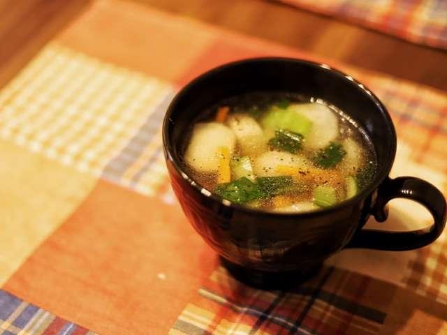 チンゲン 菜 中華 スープ