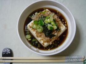 ♡簡単レンジで揚げだし豆腐風温かい豆腐♡