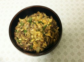 紛い物青椒肉絲。チンジャオロータジャキー