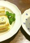 グリルフルーツのトーストサンド