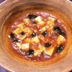 みそラーメンの残りスープで麻婆豆腐☆
