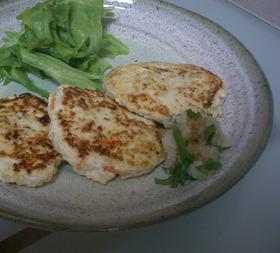 野菜たっぷり☆和風な豆腐ハンバーグ