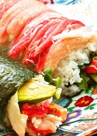 お祝いに!海鮮巻き寿司