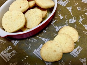 Wチーズクッキー