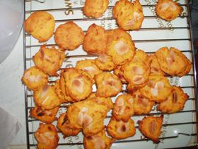 かぼちゃの煮付けクッキー