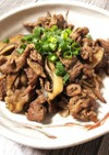 牛肉と舞茸の常備菜