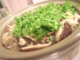 鮭きのこ雑炊