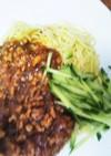 【お家で作れる本格中華㉓】ジャージャー麺