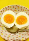 ゆで卵に麺つゆをかけただけ 美味