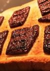 ベイクドチョコトースト