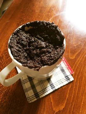 ★5分で簡単【低糖質】チョコマグケーキ★