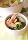 具だくさん☆鶏手羽のさっぱりスープ