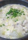 冷凍豆腐でダイエット雑炊