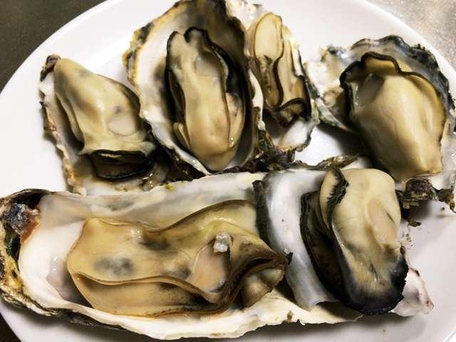 殻 付き 牡蠣 酒 蒸し
