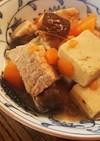 豚肉と高野豆腐の甘酒醤油煮