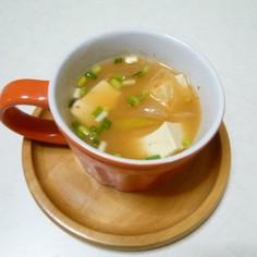 キムチ豆腐スープ