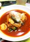 鶏ササミのトマト煮(๑´ω`๑)♡