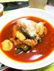 鶏ササミのトマト煮(๑´ω`๑)♡の写真
