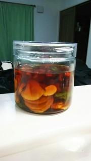 菊芋のめんつゆ漬けの写真