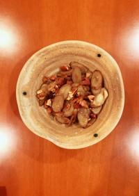ごぼうとナッツのメープルきんぴら