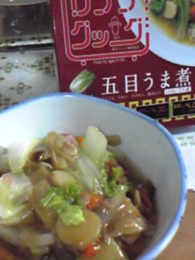 レンジクック ~白菜の五目うま煮~