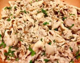 【低糖質】豚肉の梅肉炒め