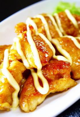 お手軽チキン南蛮!鶏むね肉の甘酢マヨ焼き